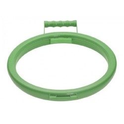 Green Handy Hoop BIn Bag Holder Ring