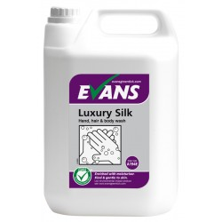 Evans Vanodine Luxury Silk Hand Soap & Body Wash 5ltr