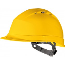 Delta Plus Quartz I Safety Helmet - Available In Blue, Yellow and White