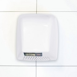 Economy White ABS Washroom Hand Dryer