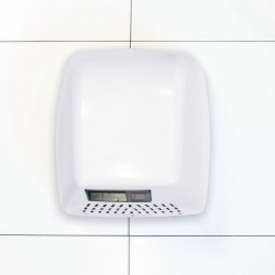 White Steel Durable Washroom Hand Dryer