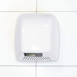 White Steel Durable Washroom Hand Dryer