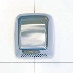 Brushed Stainless Steel Durable Washroom Hand Dryer