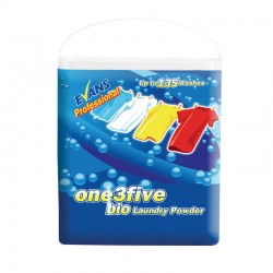 Evans Vanodine One 3 Five Bio Laundry Powder - 135 Wash