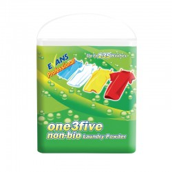 Evans Vanodine One 3 Five Non-Bio Laundry Powder - 135 Wash