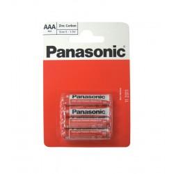 Panasonic AAA 1.5v Batteries - Pack of 4