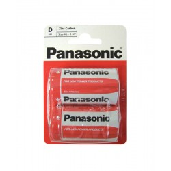 Panasonic Type D 1.5v Batteries - Pack of 2
