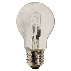 Clear 28W Edison Screw ES GLS Halogen Lamp