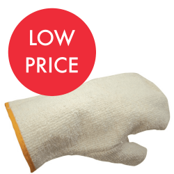 J161 Heavy Weight Terry Cloth Mittens