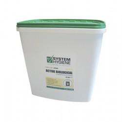 System Hygiene Active Biological Laundry Powder - 10kg