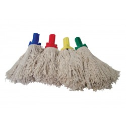 Exel Socket 250g Cotton Yarn Mop Head - Colour Coded