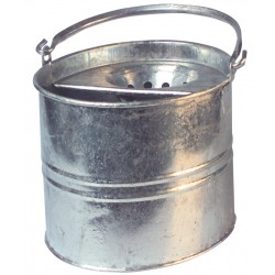 10ltr Galvanised Steel Mop Bucket