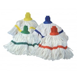 200g System Striped Mop Heads - Colour Coded