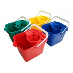 Addis 9Ltr Plastic Mop Bucket - Colour Coded