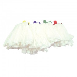 Prarie Big White Kentucky Stubby 200g Mop Head - Colour Coded
