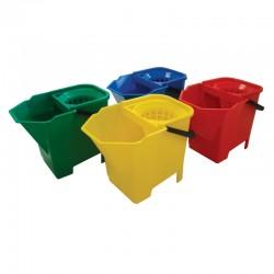 SYR Freedom Bulldog 6Ltr Mop Bucket - Colour Coded
