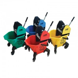 SYR TC20 20ltr Kentucky Mop Bucket and Wringer - Colour Coded