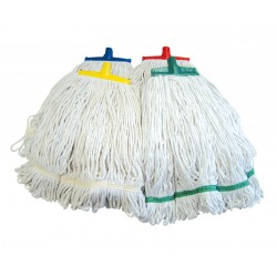 SYR Interchange 454g (16oz) Looped Cotton Kentucky Mop Head - Colour Coded