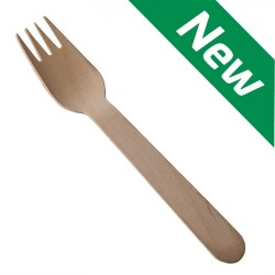 Disposable Wooden Forks (Case of 2000)