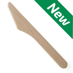Disposable Wooden Knives (Case of 2000)