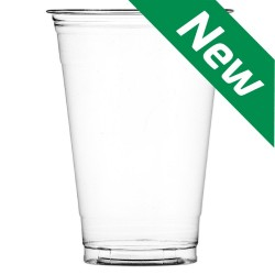 12oz Clear Smoothie Cups (PET Recyclable) - 1000 per Case