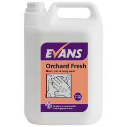 Evans Vanodine Orchard Fresh Hand Soap 5ltr