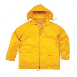 Two Piece PVC Stormsuit - Available in Green or Yellow