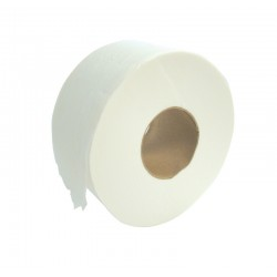 "150m 2ply 76mm (3"") Core Mini Jumbo Toilet Rolls - Case of 12"