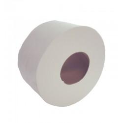 "200m 76mm (3"") Core 2ply Mini Jumbo Toilet Rolls - Case of 12"