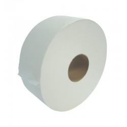 "400m 76mm (3"") Core 2ply Jumbo Toilet Rolls - Case of 6"