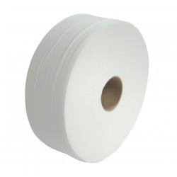 "250m 2ply 3"" Core Midi Jumbo Toilet Rolls"