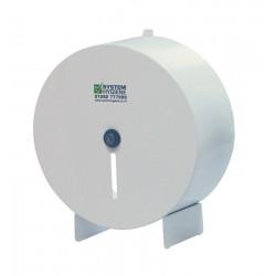 "Metal 25cm (10"") Mini Jumbo Toilet Roll Dispenser"