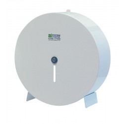 "Metal 36cm (14"") Jumbo Toilet Roll Dispenser"