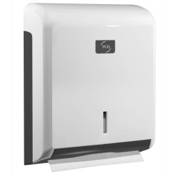 System White Hand Towel Dispenser
