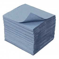 Blue 1ply Children's Paper Hand Towels - Case of 10,000