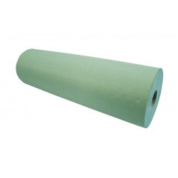 "40cm (16"") Heavyweight Green 1ply Paper Roll - 8 per Case"