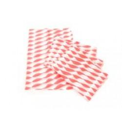 Red 22x31cm Printed Burger Wrap
