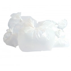 "Square Office Bin Liner 381x610x610mm (15x24x24"") - 100 per Pack"