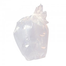 "Clear Wheelie Bin Refuse Sacks 584x1118x1320mm (23x44x52"") - Box of 100"