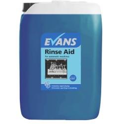 Evans Vanodine Auto Dosing Rinse Aid 10Ltr