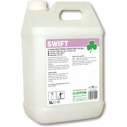 Clover Swift Clean and Shine Polish 5ltr