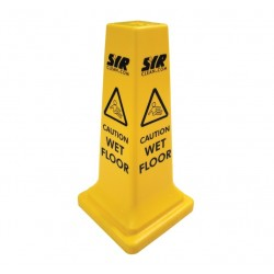 "53cm (21"") Large Yellow Caution Cone"