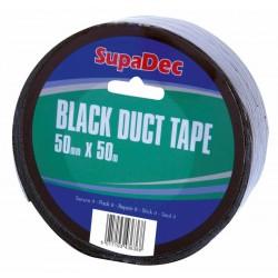 Black Vinyl Duct Tape 50mm x 50m