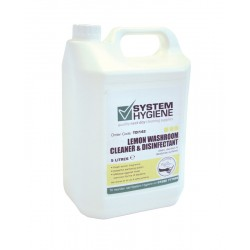 System Hygiene Lemon Washroom Cleaner and Disinfectant - 5ltr