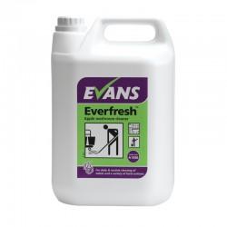 Evans Vanodine Everfresh Apple Toilet & Washroom Cleaner 5Ltr