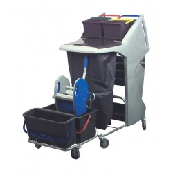 NS800 Nucleus Cleaning Trolley