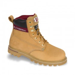 V12 Boulder Honey Nubuck Derby Safety Boot - Available In Sizes 4-13