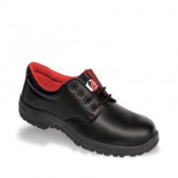 V12 V6 Beaver Black 4 Eyelet Metal Free Safety Shoe Available In Sizes 3-13