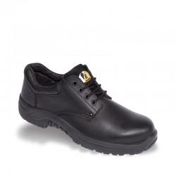 V12 VR6 Tiger Black Derby Safety Shoe - Available In Sizes 3-13