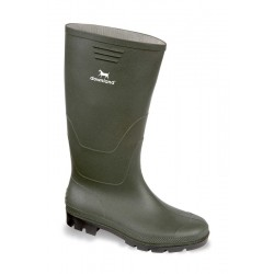 Vital Downland Green PVC Non-Safety Wellington Boot - Available In Sizes 3-13